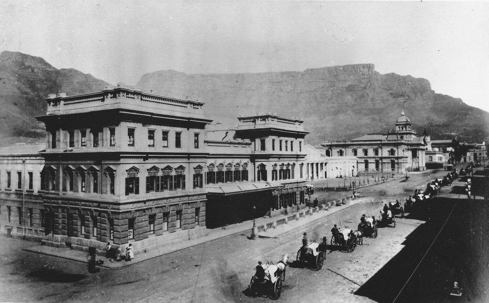 Old Station c1890 w